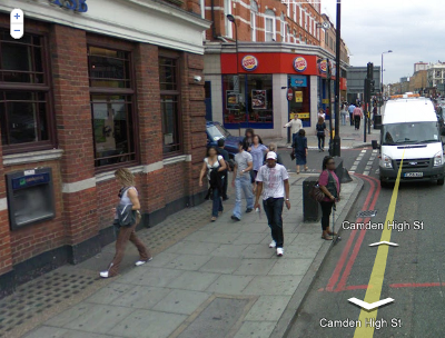 Camden Town w Londynie