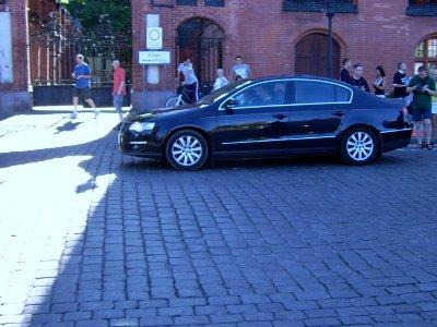 Samochód z marszałkiem