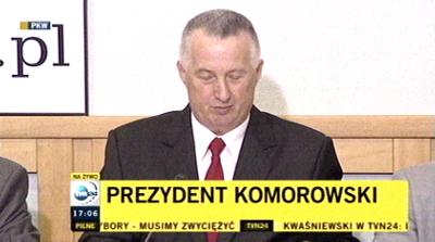 Ogłoszenie wyniku wyborów