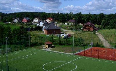 Nowe boisko w Tuchomiu