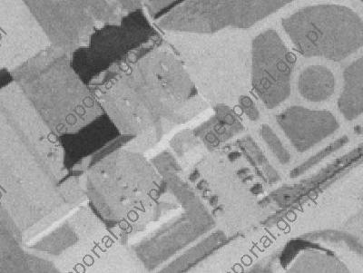 Zrzut fragmentu ekranu ze strony dawnego Geoportalu