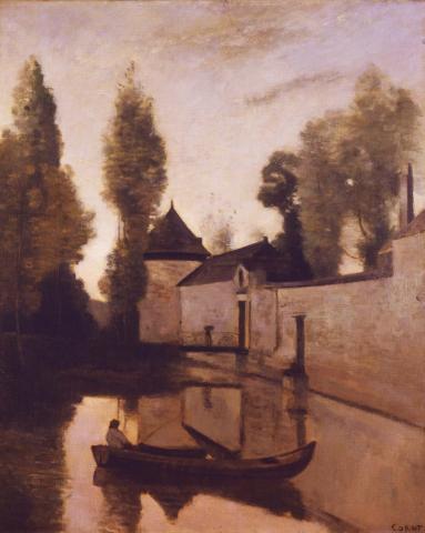Jeden z obrazów Corota